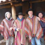 Dyeing day in Chinchero, Peru: 2015