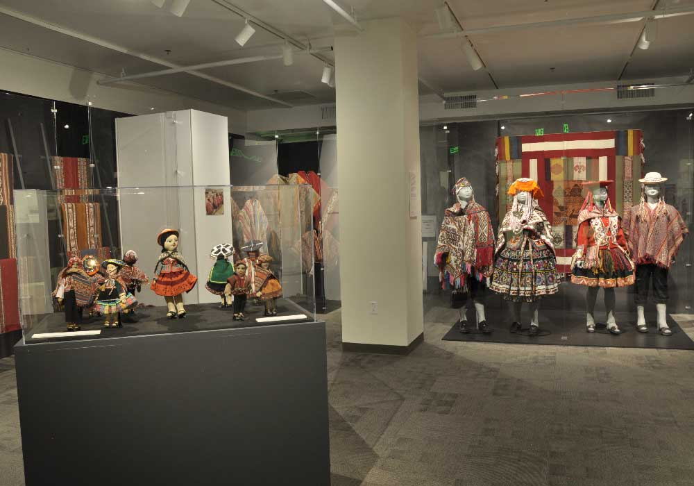 """Weaving Lives: Transforming Textile Traditions in the Peruvian Highlands"" at the Avenir Museum, Colorado State University."