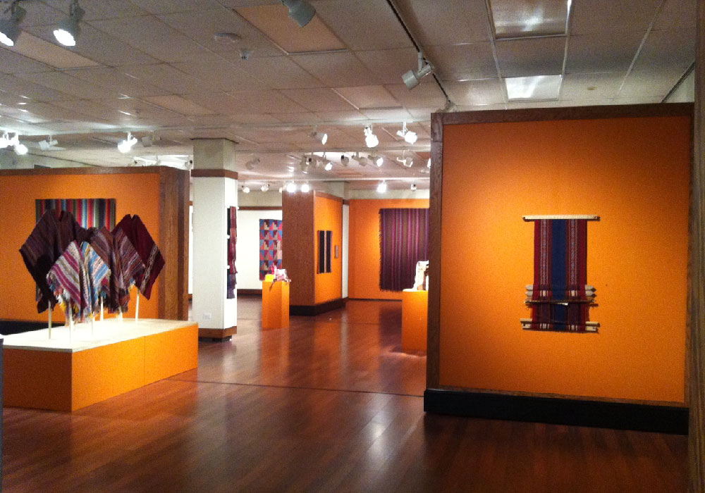 "Exhibit ""Engaging History: Continuities of Textile Traditions in the Andes"" at Kennesaw State University."